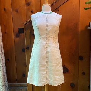 Ann Taylor Linen Shift Dress